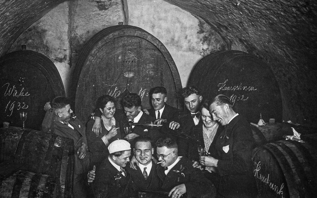 Weinlaube an der Klosterschaffnerei